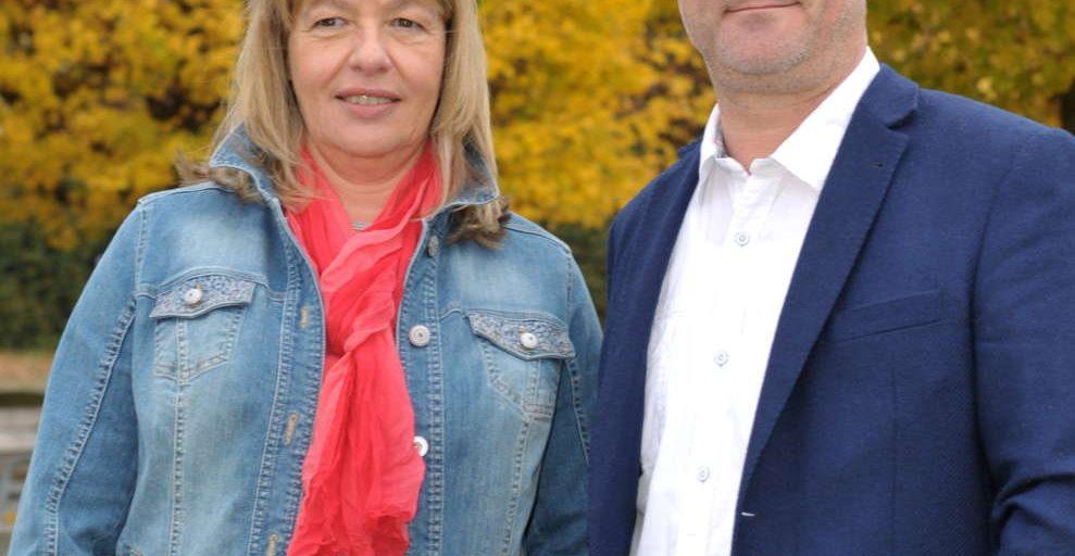 Klaus Gerhard und Karin Martiker