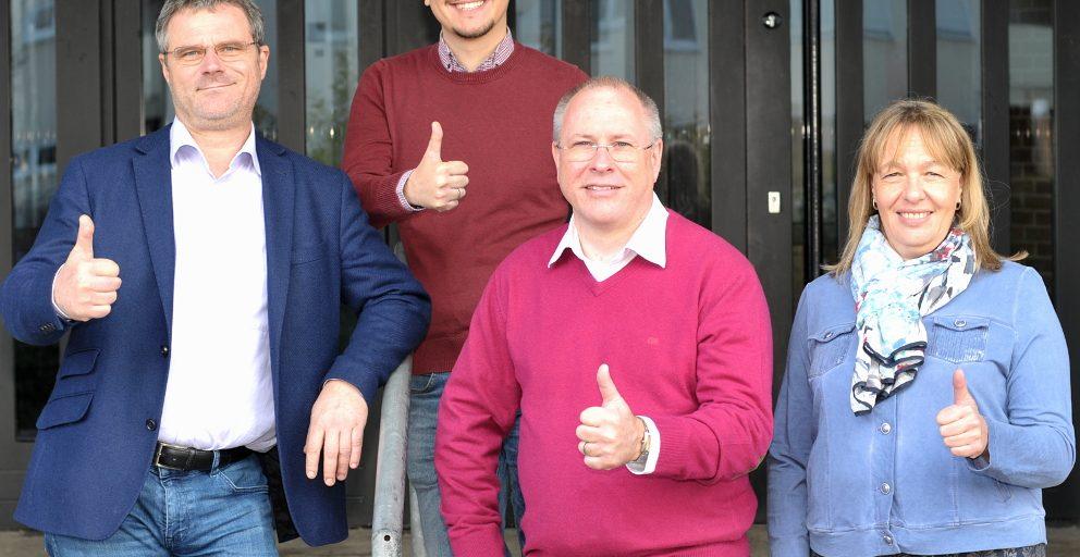 Klaus Gerhard, Leo Hoffmann, Thomas Schäfer, Karin Martiker
