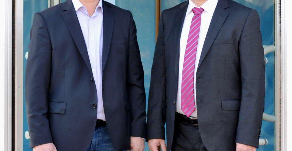 Klaus Gerhard und Thomas Schäfer