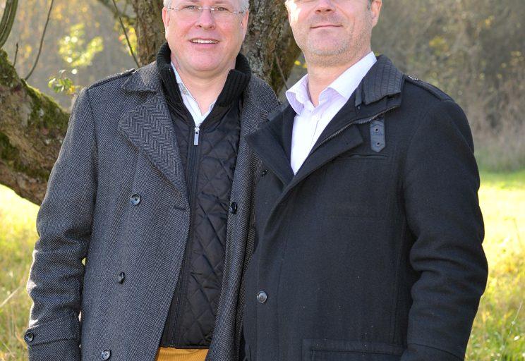 Thomas Schäfer und Klaus Gerhard