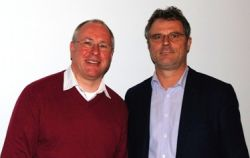 Thoams Schäfer und Klaus Gerhard